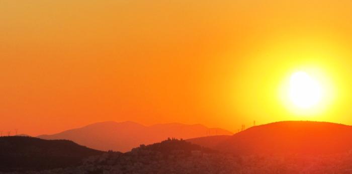 8.Athens.sunset